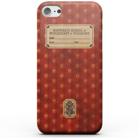 Harry Potter Gryffindor Text Book Phone Case for iPhone and Android - Samsung S6 - Snap Hülle Glänzend von Harry Potter
