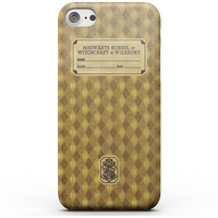 Harry Potter Hufflepuff Text Book Phone Case for iPhone and Android - iPhone 8 Plus - Snap Hülle Matt von Harry Potter