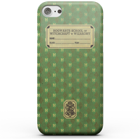 Harry Potter Slytherin Text Book Phone Case for iPhone and Android - Samsung S7 Edge - Snap Hülle Glänzend von Harry Potter