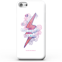 Harry Potter Love Leaves Its Own Mark Phone Case for iPhone and Android - iPhone 5/5s - Snap Hülle Glänzend von Harry Potter