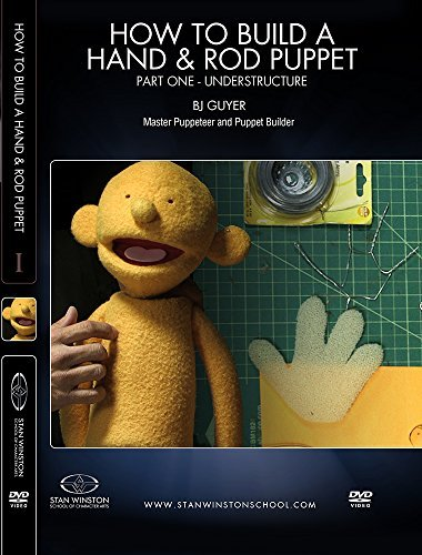 How to Build a Hand Puppet and Rod Puppet Part 1 - Understructure by BJ Guyer