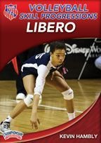 Kevin Hambly: AAU Volleyball Skill Progressions: Libero (DVD) by AAU (Amateur Athletic Union)