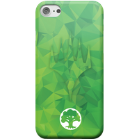 Magic The Gathering Green Mana Phone Case for iPhone and Android - iPhone 6 - Snap Hülle Glänzend von Magic The Gathering