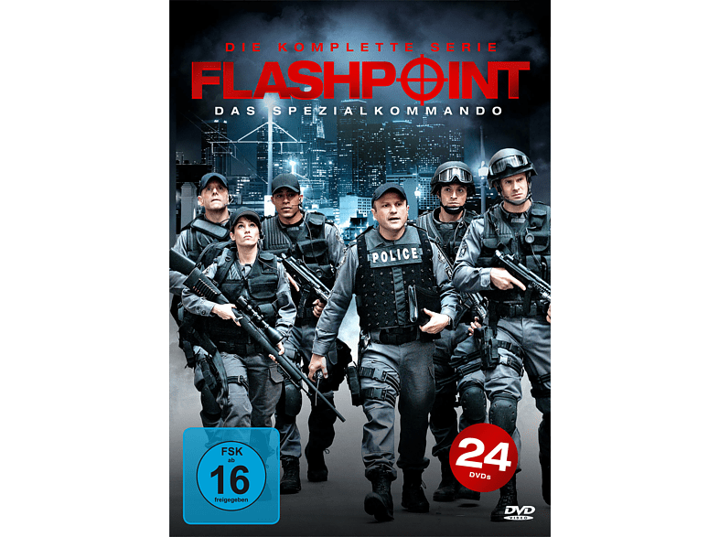 Flashpoint: Das Spezialkommando - Die komplette Serie [DVD] von KOCH MEDIA HOME ENTERTAINMENT