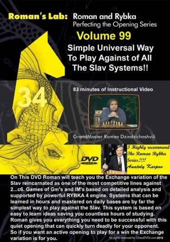 Roman's Chess Labs, Vol. 99: Simple Universal Way To Play Against All the Slav Systems DVD