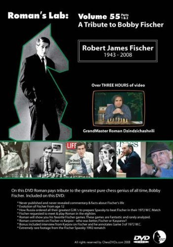 Roman's Chess Labs: Vol. 55, A Tribute to Bobby Fischer DVD