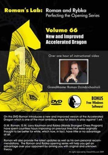 Roman's Chess Labs: Vol. 66, Mastering Chess Series - New and Improved Accelerated Dragon DVD