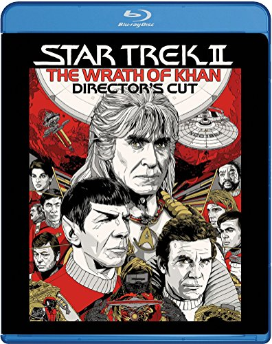 Star Trek 2 - The Wrath Of Khan (Director's Cut) [Blu-ray] [2015] UK-Import von Paramount Home Entertainment