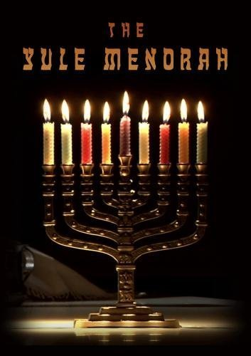 The Yule Menorah