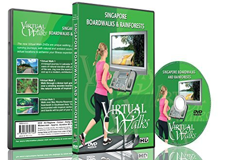 Virtual Walks - Boardwalks & Rainforests for indoor walking, treadmill and cycling workouts