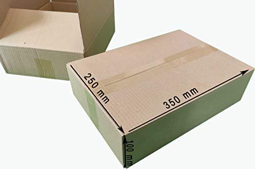 200 Versandschachteln Kartons Verpackung Schachtel 380x120x120 mm Flaschenkarton