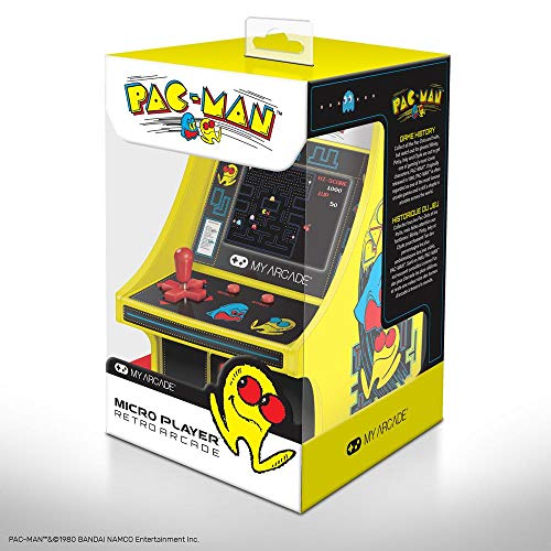 6 Zoll Collectible Retro Pac-Man Micro Player von dreamGEAR