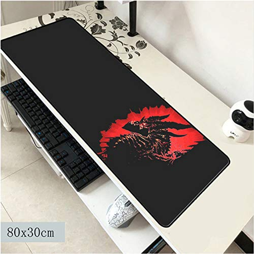 Lbonb Mauspad 800X300X2Mm Mauspad Laptop Padmouse Computer Gaming Mousepad Hd Druck Gamer Spielmatten von lbonb