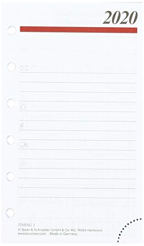 grau rido//id/é 706704485 Zeitplansysteme//Ringbuchkalender//Timer Timing 7,6 x 12,7 cm, Kunstleder-Ringbuch mit Nieten, mit Lasche, 6-Ring-Kipphebelmechanik, ohne Kalendarium