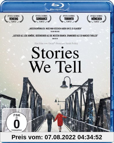 Stories We Tell  (OmU) [Blu-ray] von unbekannt