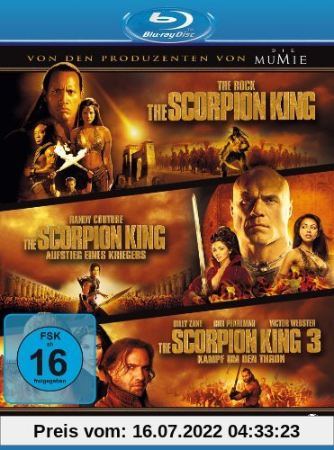 The Scorpion King 1-3 - Box [Blu-ray] von unbekannt