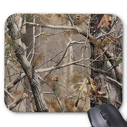 Camo Camouflage Hunting Real Tree Hunter Mouse Pad von ziHeadwear