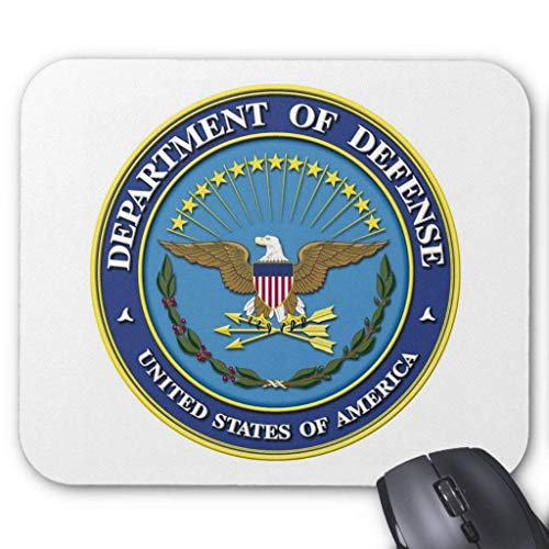 Department Of Defense Mouse Pad von ziHeadwear