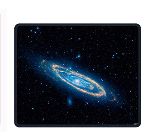 Galaxy 8.66 X 7.09 Inch Computer Mouse Pad with Neoprene Backing and Jersey Surface von ziHeadwear